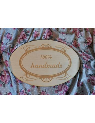 Duża tabliczka hanmade